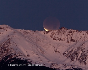 Lunar Eclipse and Moonset