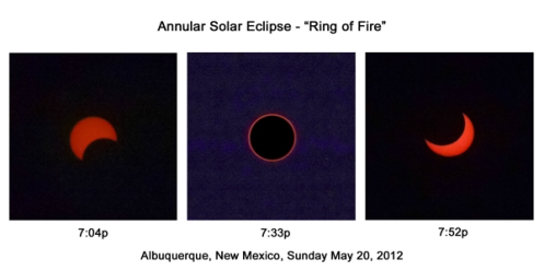 Annular Solar Eclipse - Ring of Fire